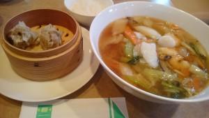 五目スープそばセット-なばなの里中国料理桃仙4