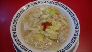 タンメン(2辛)半チャンセット-元祖タンメン屋多治見店1
