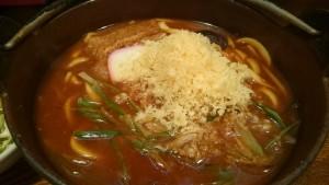 味噌煮込定食(ご飯大盛り)-ゆでたてうどん屏風山2