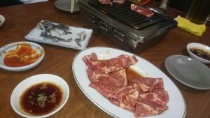 豚ロース焼-焼肉食道園1