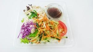 ねぎだれ和えの蒸し鶏サラダ-セブンイレブン1
