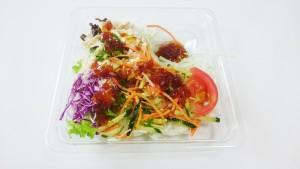 ねぎだれ和えの蒸し鶏サラダ-セブンイレブン2