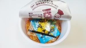 チキンラーメンどんぶり酸辣湯(サンラータン)風2