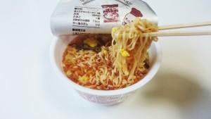 チキンラーメンどんぶり酸辣湯(サンラータン)風6