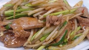 レバニラ炒め定食-味A土岐店3