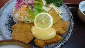 魚フライ定食-かつ丼の店ちちや2