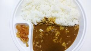 豚しゃぶカレー(400g)+野菜サラダ-カレーハウスCoCo壱番屋土岐インター店3