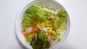 豚しゃぶカレー(400g)+野菜サラダ-カレーハウスCoCo壱番屋土岐インター店4