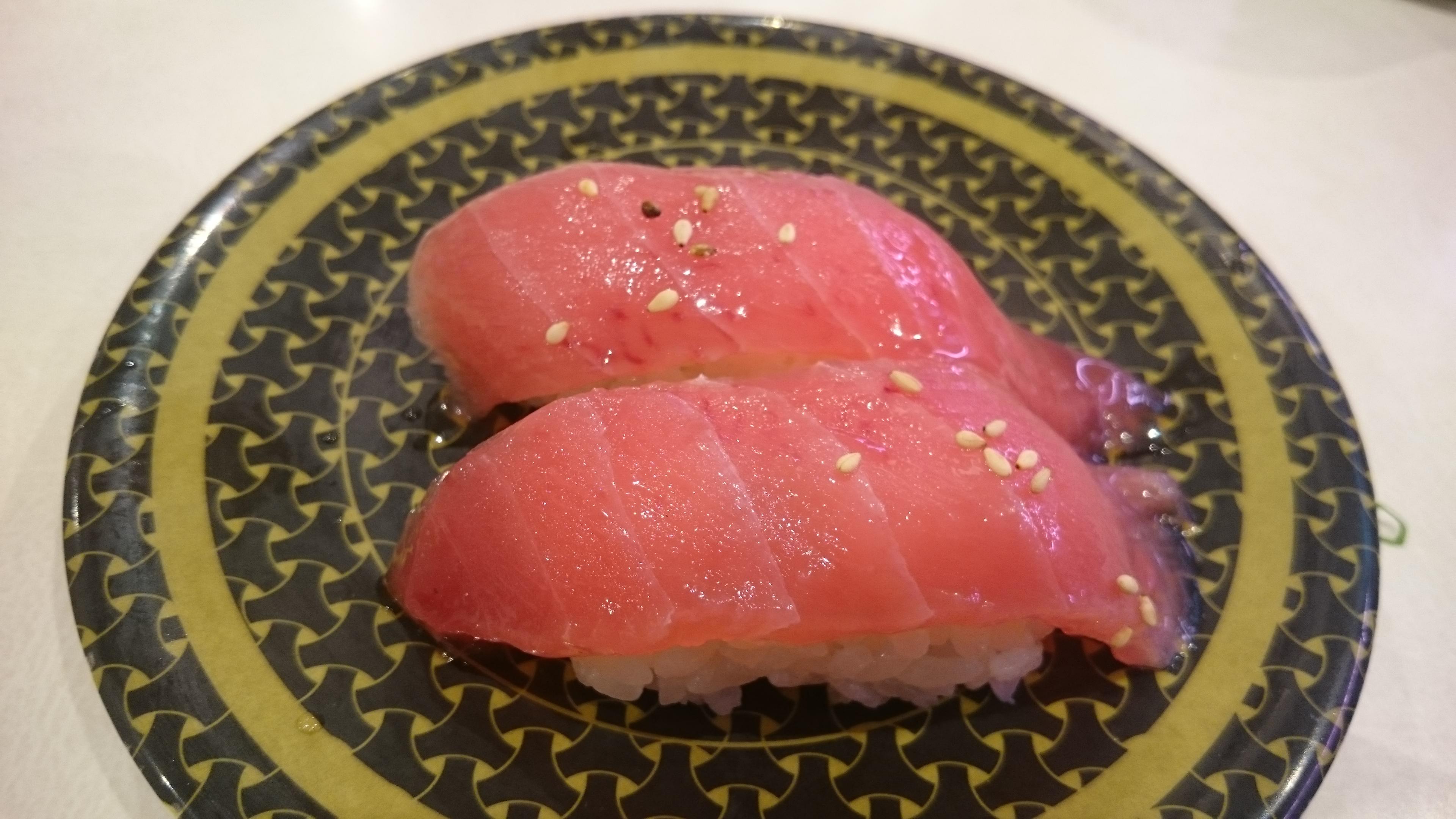 特製漬けまぐろ・まぐろユッケ-はま寿司土岐店