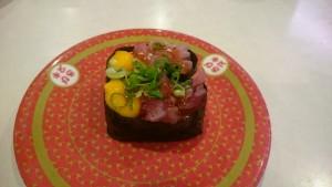 特製漬けまぐろ・まぐろユッケ-はま寿司土岐店2