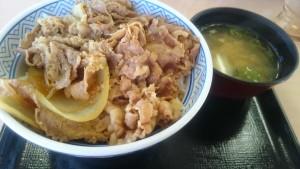 牛丼大盛り+みそ汁-吉野家248号線可児店1