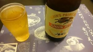 キリンラガービール瓶ビール【ディナーセット】鶏もも肉とほうれん草のピリ辛バジリコスープ仕立て-ニーニャニーニョ桜小町可児店