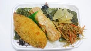 のりタルタル弁当ご飯大盛り-ほっともっと土岐口店2