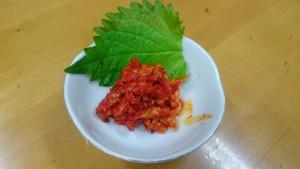 チャンジャ-焼肉ひーさん家瑞浪店