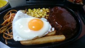 ハンバーグ定食-ひさ美2