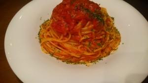 トマトソースのパスタ-イタリアンレストランBank京町店1