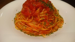 トマトソースのパスタ-イタリアンレストランBank京町店2