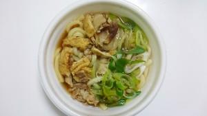麺たっぷり!肉汁うどん-セブンイレブン2
