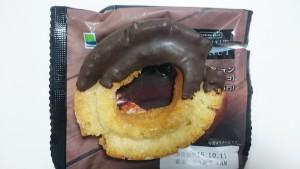 【ファミマカフェ】オールドファッションドーナツ(チョコ)3