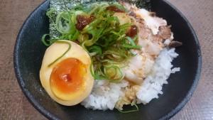 あっさりしょうまろベトコン+チャー玉ご飯定食-ラーメンハウスくねくね瑞浪店4