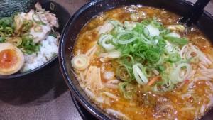 あっさりしょうまろベトコン+チャー玉ご飯定食-ラーメンハウスくねくね瑞浪店5