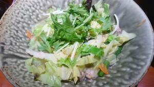 塩野菜タンメン+ごはん並-極旨醤油ら~めん一刻魁堂土岐店1