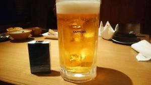 メガ生ビール-izakaya BINBO瑞浪店