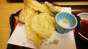 みそ煮込和膳の天ぷら-サガミ土岐店