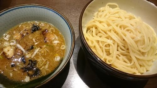 つけめん中盛り(2玉)-麺屋もり田