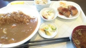日替わりランチ(カレーライス)1-キッチン味彩