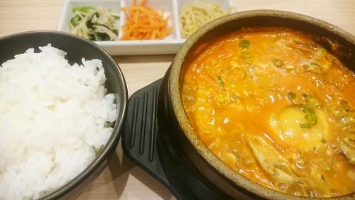 牡蠣スンドゥブ1-東京純豆腐ユニモール店