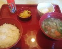 豚汁朝食1-ジョイフル土岐肥田店