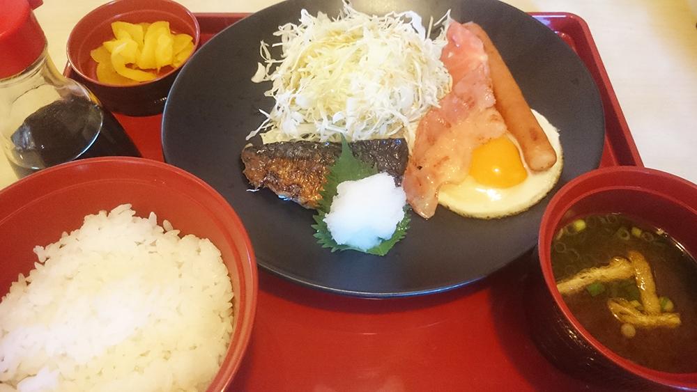 幕の内朝食-ジョイフル土岐肥田店