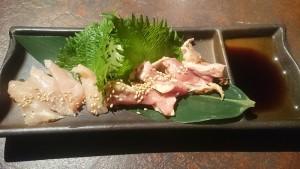 薩摩地鶏のたたき-魂のホルモン五臓六腑可児総本店