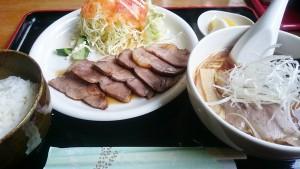 焼豚+セット1-お食事処多久好