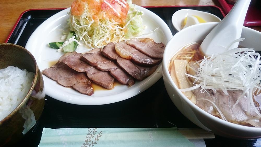 焼豚+セット-お食事処多久好