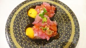 まぐろユッケ-はま寿司土岐店