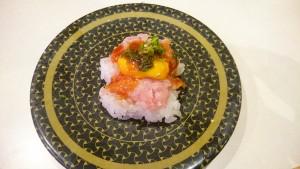 ねぎとろユッケ-はま寿司土岐店
