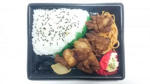 若鶏の唐揚げ弁当2-サークルK