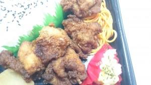 若鶏の唐揚げ弁当3-サークルK
