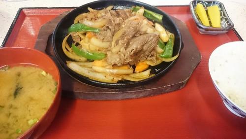 焼肉定食1-屋台横丁ちろりん村