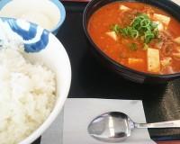 豆腐キムチチゲ膳1-松屋多治見店