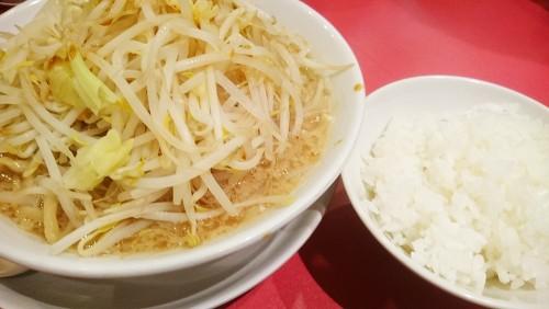 肉なしラーメン1-麺屋あっ晴れどまん中錦店