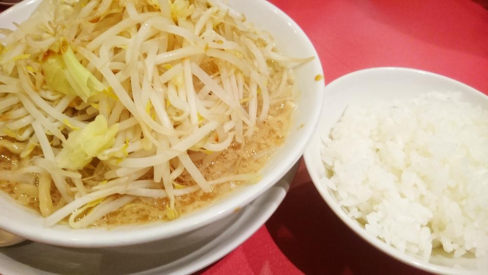 肉なしラーメン-麺屋あっ晴れどまん中錦店