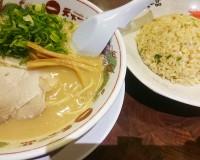 【チャーハン定食】こってりラーメン1