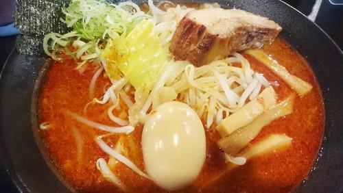 ガッツリ次郎系ラーメン1-つけ麺・ラーメンカガミハラ55
