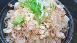 豆腐ぶっかけ飯~鯛だし味~2-吉野家19号線多治見店