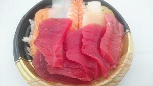 大間のマグロ入り海鮮丼1-全日本うまいもの祭り2016inモリコロパーク