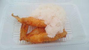 おろしポン酢フグの唐揚げ1-全日本うまいもの祭り2016inモリコロパーク