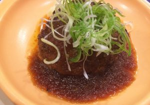 国産牛と瑞浪ボーノポークのハンバーグ2-西洋料理オランジュ